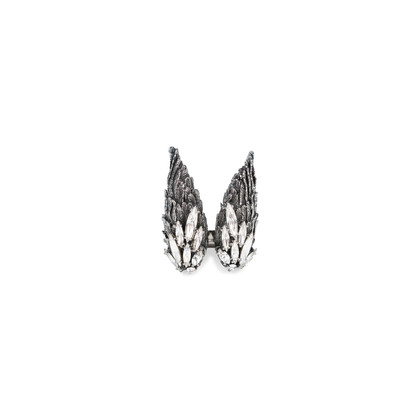 Authentic Second Hand Lucien Elements Angelica Wing Ring (PSS-566-00057)