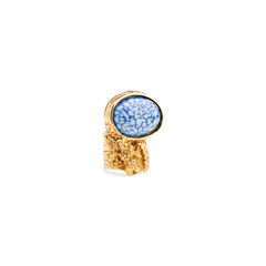 Yves saint laurent blue arty oval ring 2?1539069240