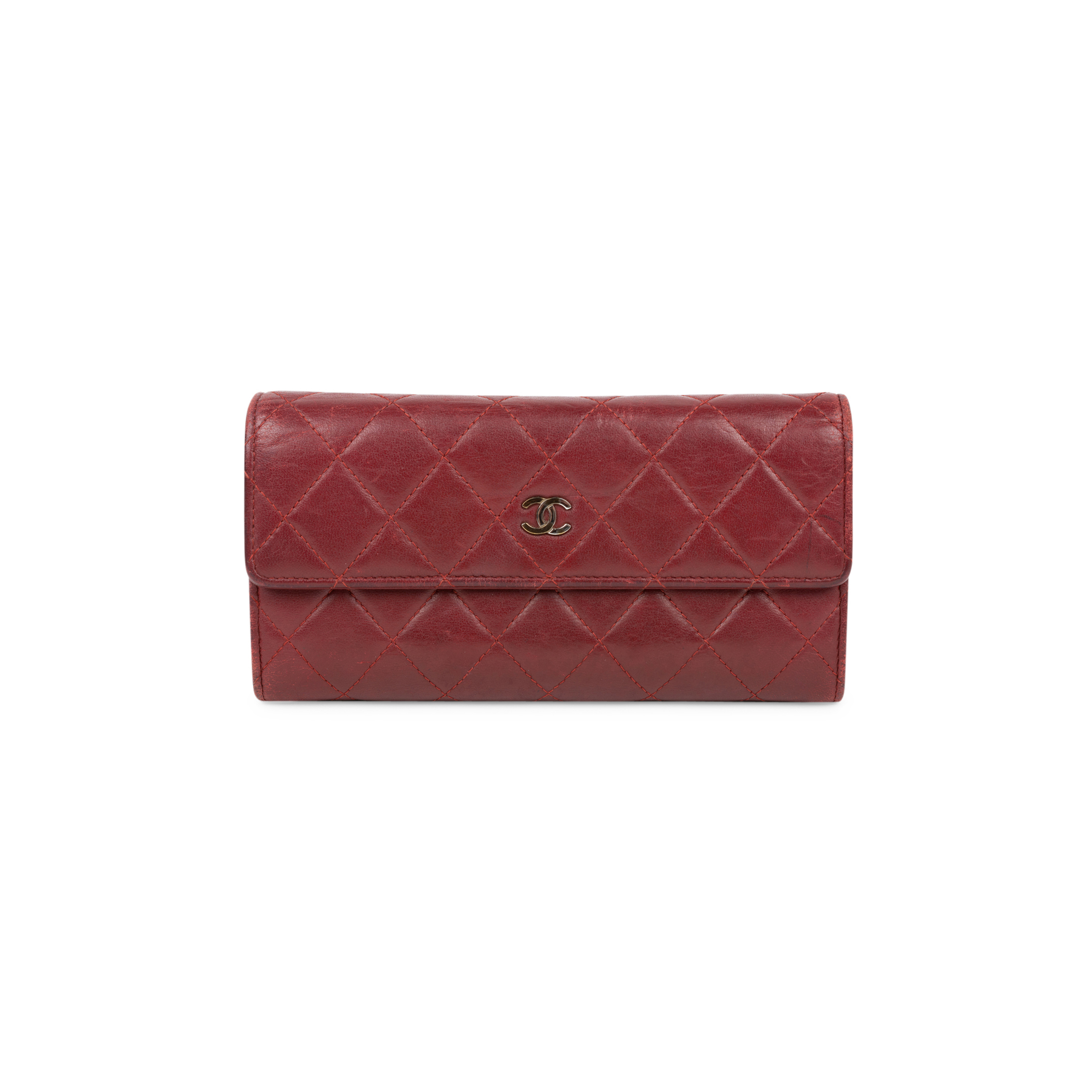 0f96192f1c78 Authentic Second Hand Chanel Quilted Classic Flap Wallet (PSS-566-00070) |  THE FIFTH COLLECTION