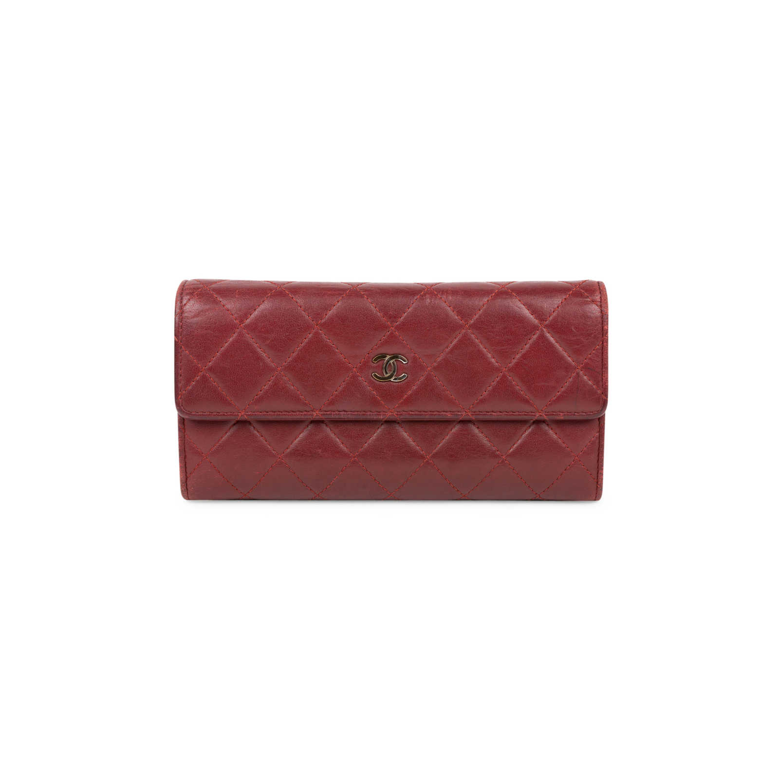 9ce0a432907e Authentic Second Hand Chanel Quilted Classic Flap Wallet (PSS-566-00070) ...