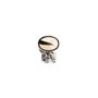 Authentic Second Hand Yves Saint Laurent Gold Stone Arty Oval Ring (PSS-566-00058) - Thumbnail 1