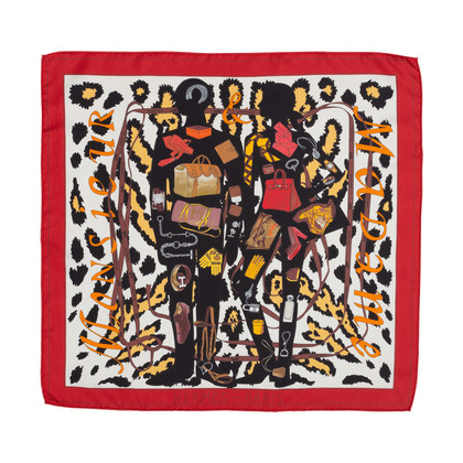 Authentic Pre Owned Hermès Monsieur et Madame II Scarf (PSS-566-00049)