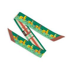 Hermes green rocabar twilly 2?1539235399