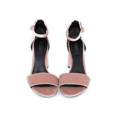 Abby Velvet Sandals