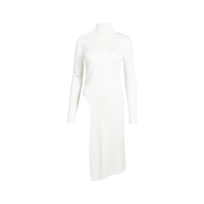 Authentic Second Hand Balenciaga Asymmetrical Turtleneck Sweater (PSS-562-00005)