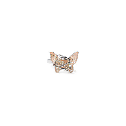 Authentic Second Hand Christian Dior Butterfly Ring (PSS-563-00001)