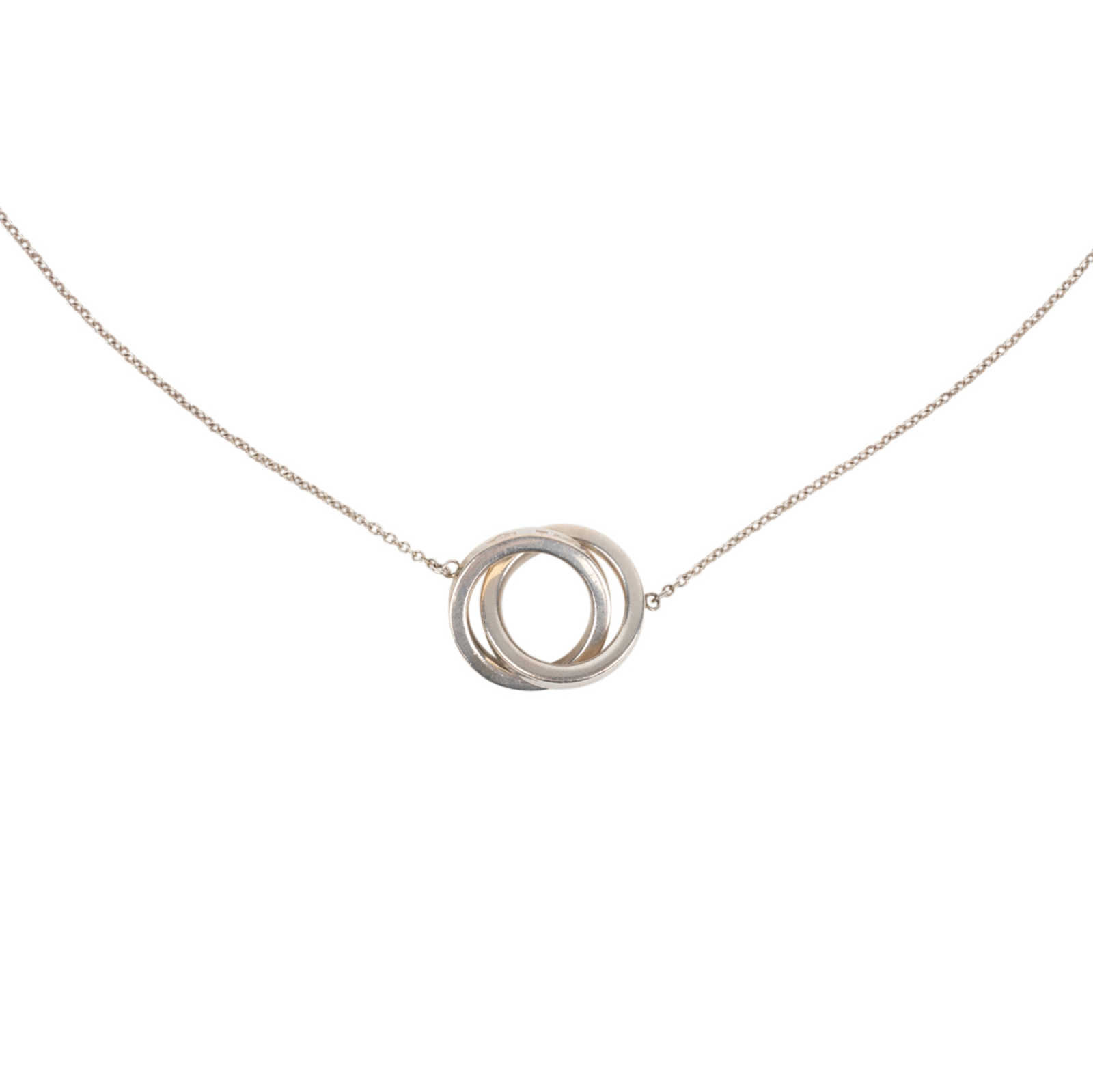 2908ef4af Authentic Second Hand Tiffany & Co Interlocking Circles Pendant  (PSS-563-00003) ...