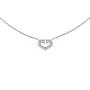 Authentic Second Hand Cartier Coeur C de Diamond Necklace (PSS-567-00004) - Thumbnail 0