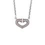 Authentic Second Hand Cartier Coeur C de Diamond Necklace (PSS-567-00004) - Thumbnail 2