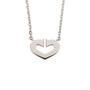 Authentic Second Hand Cartier Coeur C de Diamond Necklace (PSS-567-00004) - Thumbnail 3