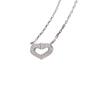 Authentic Second Hand Cartier Coeur C de Diamond Necklace (PSS-567-00004) - Thumbnail 7