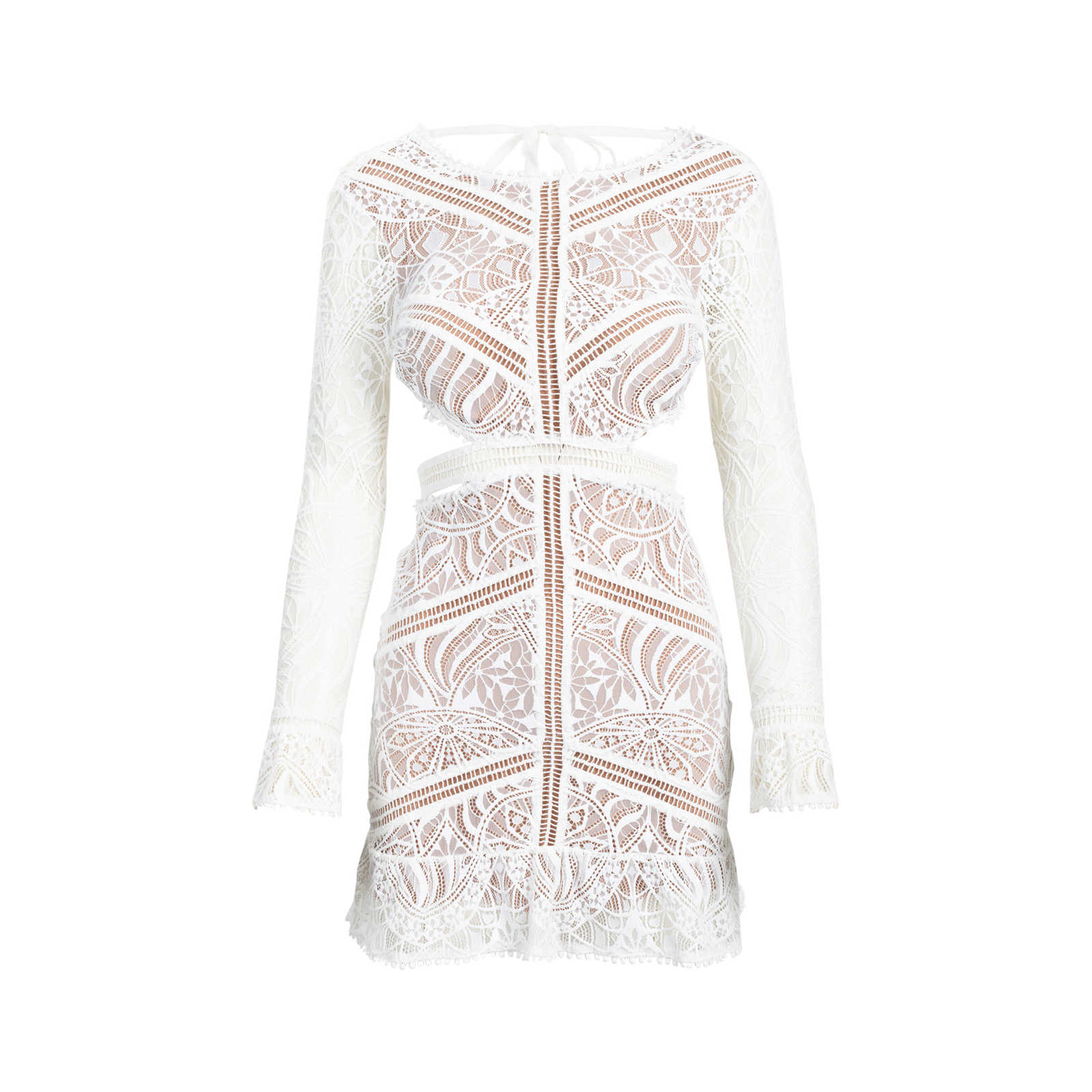 73431260780b0 Authentic Second Hand For Love and Lemons Emerie Cut Out Dress (PSS-515- ...