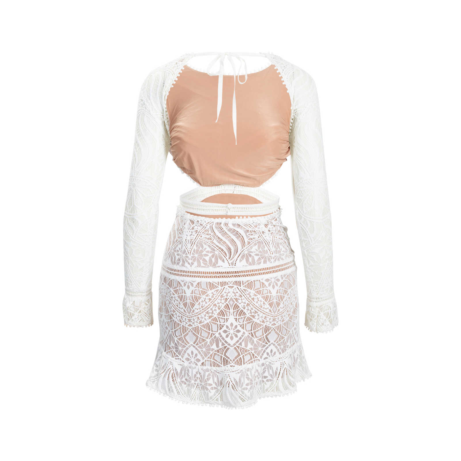 096402549f8c2 ... Authentic Second Hand For Love and Lemons Emerie Cut Out Dress  (PSS-515- ...