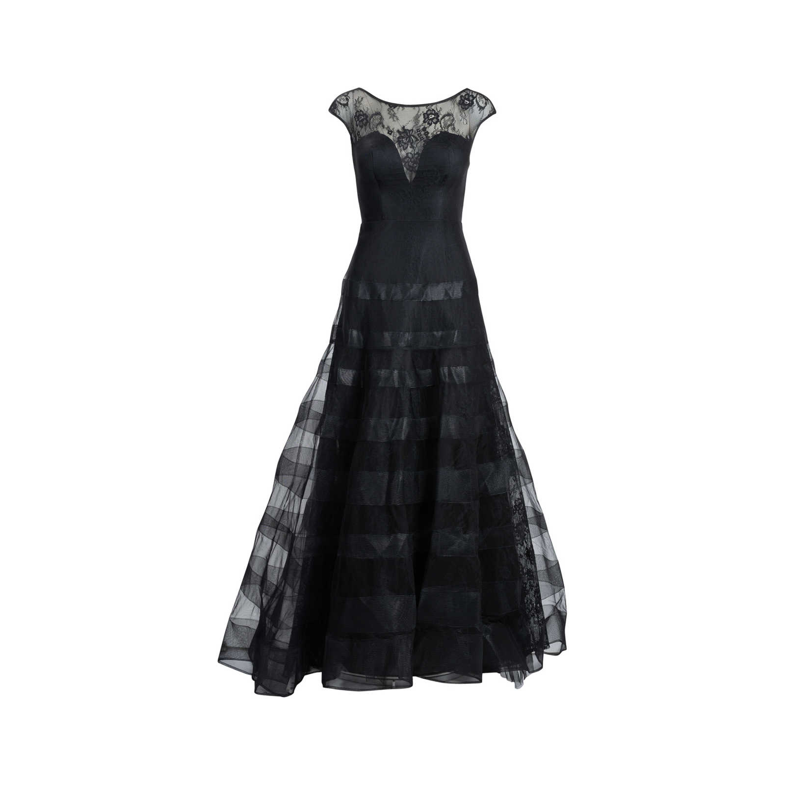 3ac6cdee204 Authentic Second Hand Basix Black Label Cap Sleeve Gown (PSS-515-00110) ...
