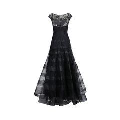 Basix black label cap sleeve gown 2?1539848407