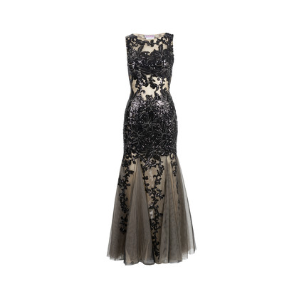 Authentic Second Hand Jovani Sequin Mermaid Gown (PSS-515-00112)