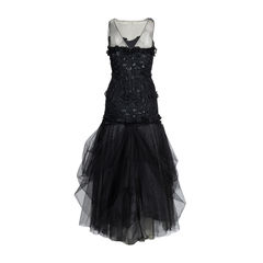 Bcbg max azria tulle and applique gown 2?1539848551