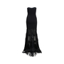 Authentic Second Hand Badgley Mischka Strapless Fringe Gown (PSS-515-00115) - Thumbnail 1