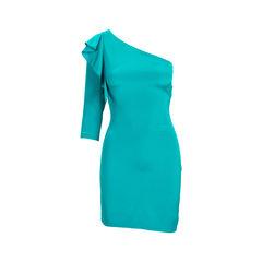 Ruffled Toga Dress
