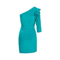 Diane von furstenberg ruffled toga dress 2?1539857307