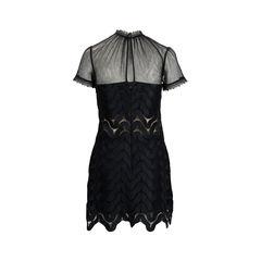 Self portrait evie wave lace minidress black 2?1539857361