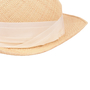 Authentic Second Hand Lanvin Straw Panama Hat (PSS-515-00087) - Thumbnail 4