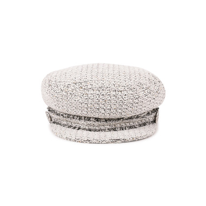 Authentic Second Hand Chanel Newsboy Cap (PSS-515-00120)