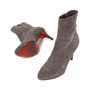 Authentic Second Hand Christian Louboutin Top Suede Ankle Boots (PSS-515-00121) - Thumbnail 1