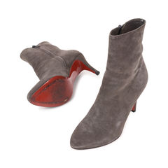 Christian louboutin top suede ankle boots 2?1540195277