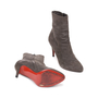 Authentic Second Hand Christian Louboutin Top Suede Ankle Boots (PSS-515-00121) - Thumbnail 2