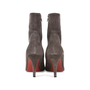 Authentic Second Hand Christian Louboutin Top Suede Ankle Boots (PSS-515-00121) - Thumbnail 3