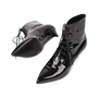 Authentic Pre Owned Saint Laurent Patent Leather Ankle Boots (PSS-515-00122) - Thumbnail 1