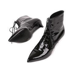 Saint laurent patent leather ankle boots 2?1540195361