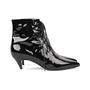 Authentic Pre Owned Saint Laurent Patent Leather Ankle Boots (PSS-515-00122) - Thumbnail 4