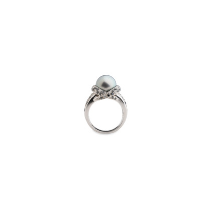 Authentic Pre Owned Mauboussin Perle Caviar Mon Amour RIng (PSS-515-00099)