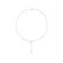 Authentic Pre Owned Chanel Diamond and Ceramic Calcedony Camellia Necklace (PSS-515-00101) - Thumbnail 1