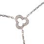 Authentic Pre Owned Chanel Diamond and Ceramic Calcedony Camellia Necklace (PSS-515-00101) - Thumbnail 2