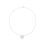 Authentic Pre Owned Chanel Diamond Camellia Pendant Necklace (PSS-515-00102) - Thumbnail 1