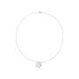 Authentic Second Hand Chanel Diamond Camellia Pendant Necklace (PSS-515-00102) - Thumbnail 1