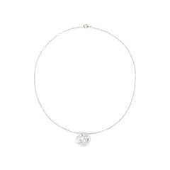 Chanel diamond camellia pendant necklace 2?1540198353