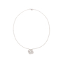 Authentic Pre Owned Chanel Diamond Camellia Pendant Necklace (PSS-515-00102) - Thumbnail 2