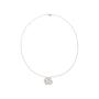 Authentic Second Hand Chanel Diamond Camellia Pendant Necklace (PSS-515-00102) - Thumbnail 2