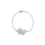 Authentic Pre Owned Chanel Diamond Camellia Bracelet (PSS-515-00103) - Thumbnail 0