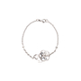 Authentic Pre Owned Chanel Diamond Camellia Bracelet (PSS-515-00103) - Thumbnail 2