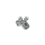 Authentic Second Hand Chanel Large Crystal Drop Earrings (PSS-515-00105) - Thumbnail 1