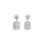 Authentic Second Hand Chanel Large Crystal Drop Earrings (PSS-515-00105) - Thumbnail 2
