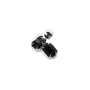Authentic Second Hand Chanel Large Black Crystal Drop Earrings (PSS-515-00106) - Thumbnail 1