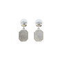 Authentic Second Hand Chanel Large Black Crystal Drop Earrings (PSS-515-00106) - Thumbnail 2