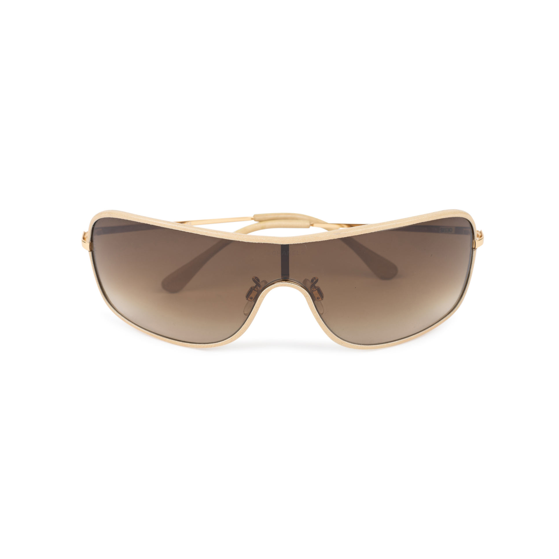 c50af3b7f1 Authentic Second Hand Chanel Shield Sunglasses (PSS-515-00093)