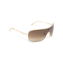 Authentic Pre Owned Chanel Shield Sunglasses (PSS-515-00093) - Thumbnail 1